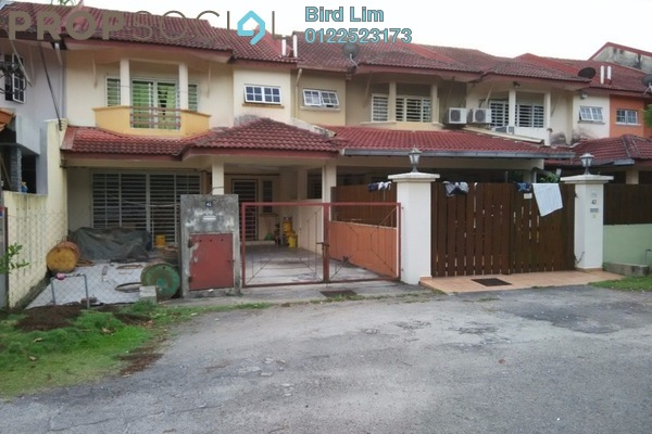 For Sale Terrace at Saujana Puchong, Puchong Freehold Semi Furnished 4R/3B 522k