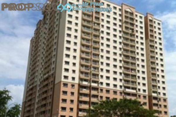 For Sale Apartment at Prai Inai, Seberang Jaya Freehold Semi Furnished 2R/2B 215k