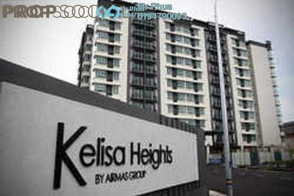 For Sale Apartment at Kelisa Heights, Seberang Jaya Freehold Semi Furnished 4R/2B 398k