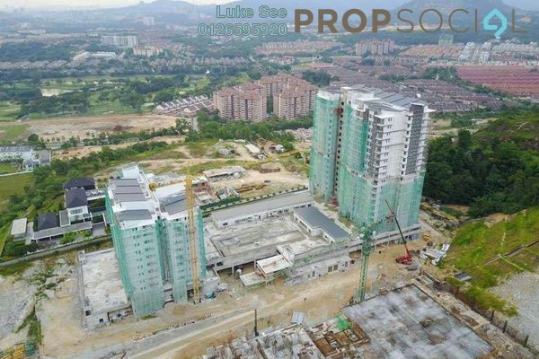 For Sale Condominium at Iris Residence, Bandar Sungai Long Freehold Unfurnished 3R/2B 512k