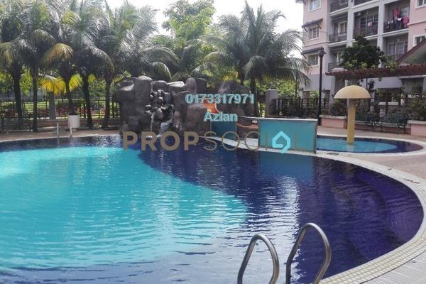 For Rent Condominium at Saujana Aster, Putrajaya Freehold Semi Furnished 3R/2B 1.8k