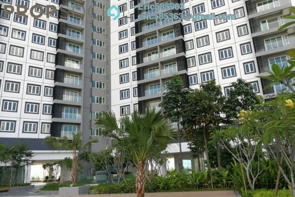 For Sale Serviced Residence at Mercury Serviced Apartment @ Sentul Village, Sentul Freehold Semi Furnished 3R/2B 568k