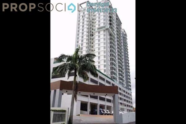 For Rent Condominium at Berjaya Condominium, Bukit Mertajam Freehold Semi Furnished 4R/4B 1.3k