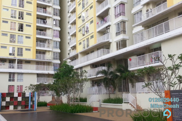 For Sale Condominium at Platinum Lake PV15, Setapak Leasehold Unfurnished 3R/2B 550k