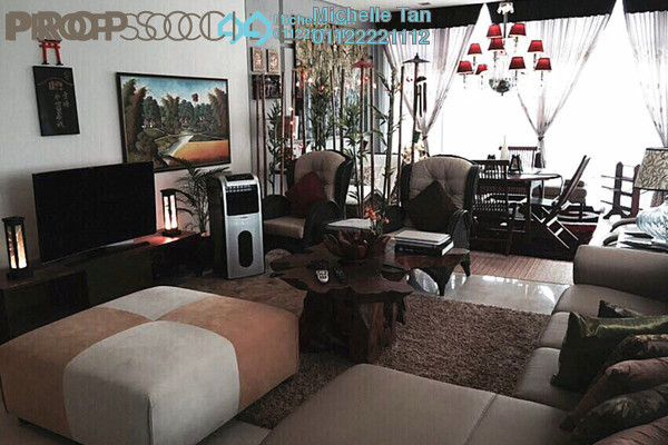 For Rent Condominium at The Troika, KLCC Freehold Fully Furnished 3R/5B 14k