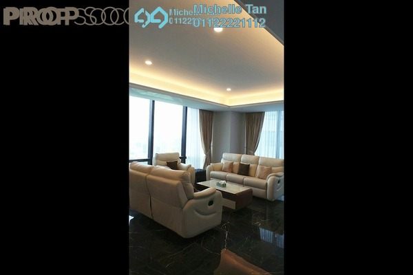 For Rent Condominium at St Regis Residences, KL Sentral Freehold Fully Furnished 2R/3B 16.9k