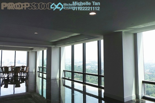 For Rent Condominium at St Regis Residences, KL Sentral Freehold Semi Furnished 3R/3B 29.8k