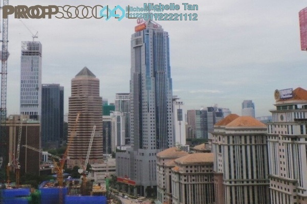 For Rent Condominium at Mirage Residence, KLCC Freehold Semi Furnished 3R/3B 5.5k