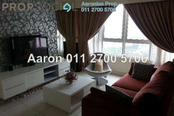 For Rent Condominium at Tiffani Kiara, Mont Kiara Freehold Fully Furnished 2R/2B 3.8千