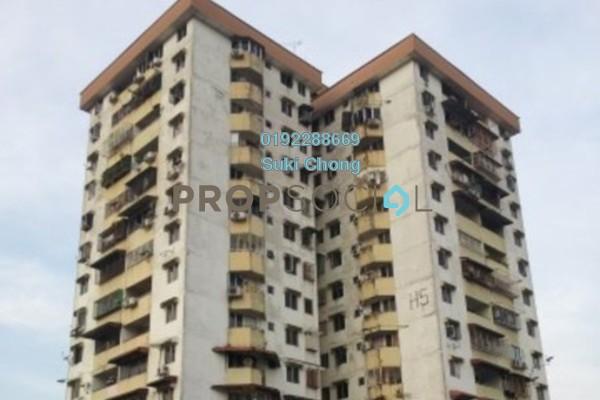 For Sale Apartment at Pandan Jaya H5, Pandan Jaya Leasehold Unfurnished 3R/1B 240.0千