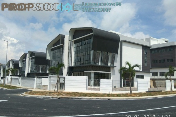 For Rent Factory at Sinar Meranti Technology Park, Puchong Freehold Semi Furnished 3R/3B 15k