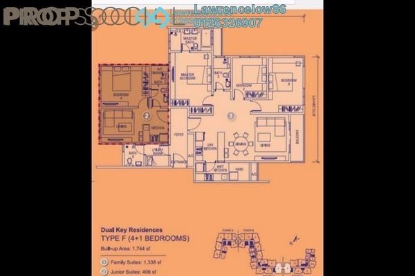 For Rent Condominium at You Vista @ You City, Batu 9 Cheras Freehold Semi Furnished 5R/4B 2.7k