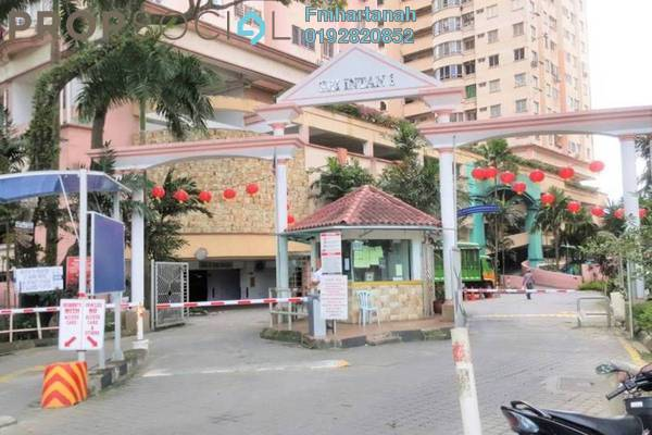 For Rent Condominium at Sri Intan 1, Jalan Ipoh Freehold Unfurnished 3R/2B 1.1k