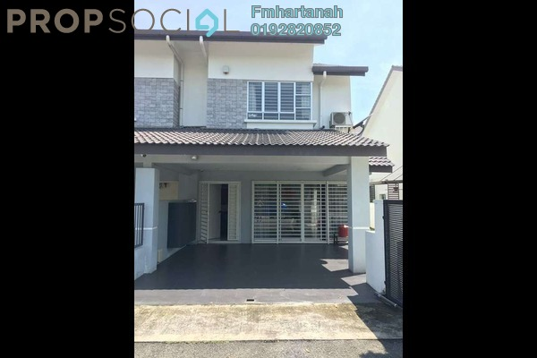 For Sale Terrace at Bandar Nusaputra, Puchong Freehold Unfurnished 4R/3B 650k