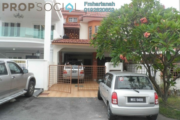 For Sale Terrace at BP10, Bandar Bukit Puchong Freehold Semi Furnished 4R/3B 690k