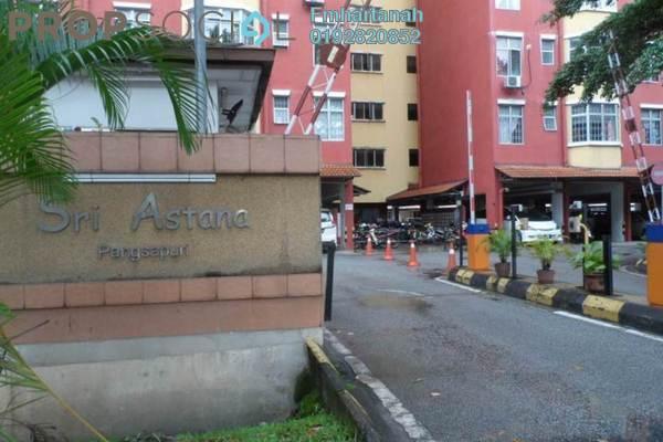 For Sale Apartment at Sri Astana, Batu Caves Freehold Semi Furnished 4R/2B 300k