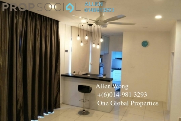 For Rent Terrace at Taman Bukit Indah, Bukit Indah Freehold Fully Furnished 4R/4B 3.2k