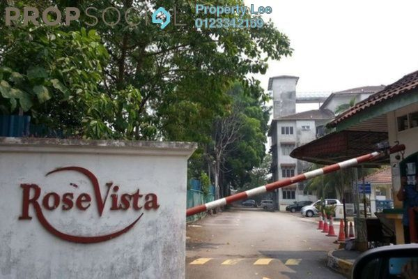 For Rent Apartment at Rose Vista, Ampang Freehold Semi Furnished 3R/2B 1.2k