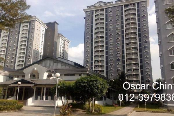 For Sale Condominium at Endah Villa, Sri Petaling Freehold Fully Furnished 3R/2B 460k