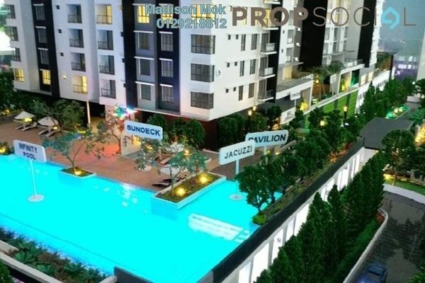 For Sale Condominium at Iris Residence, Bandar Sungai Long Freehold Unfurnished 4R/3B 538k