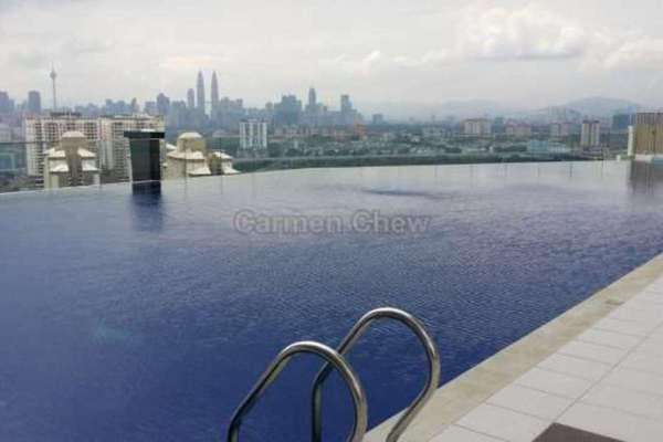 For Sale Condominium at Sky Vista Residensi, Cheras Freehold Semi Furnished 4R/3B 880k