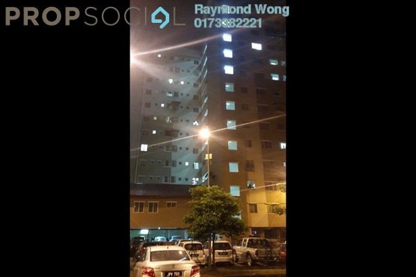 For Rent Apartment at Permai Court 1, Ampang Jaya Freehold Unfurnished 3R/2B 1.1k