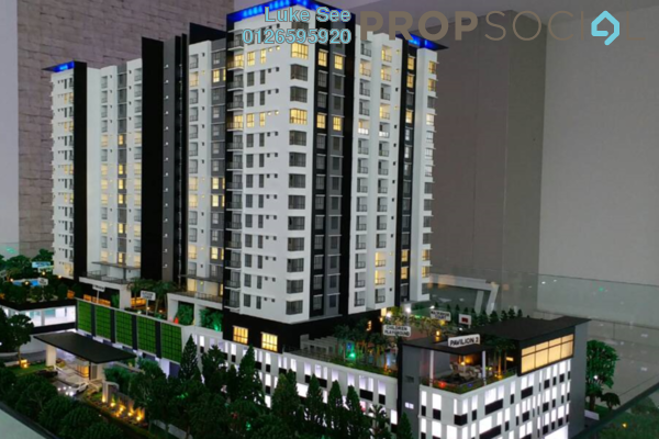 For Sale Condominium at Iris Residence, Bandar Sungai Long Freehold Unfurnished 3R/2B 503k