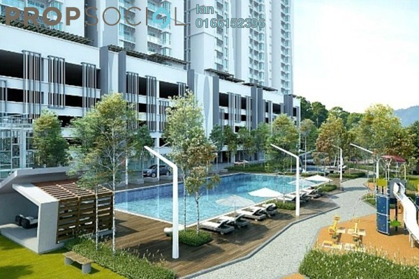 For Sale Condominium at Riverville Residences, Old Klang Road Freehold Semi Furnished 3R/2B 670k
