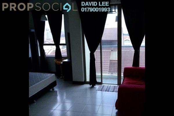 For Rent SoHo/Studio at Ritze Perdana 1, Damansara Perdana Leasehold Fully Furnished 1R/1B 1.3k