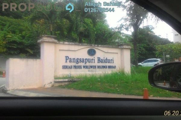 For Rent Apartment at Baiduri Apartment, Shah Alam Freehold Unfurnished 3R/2B 1.15k