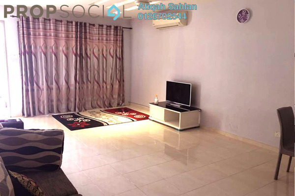 For Rent Terrace at Alam d'16, Shah Alam Freehold Semi Furnished 4R/3B 1.8k