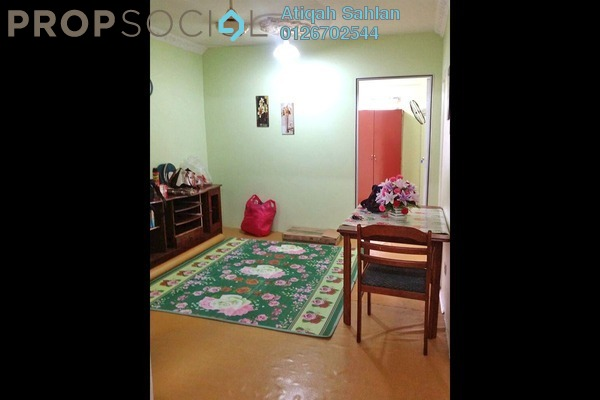 For Rent Apartment at PKNS Seksyen 7 Flat, Shah Alam Freehold Semi Furnished 4R/2B 1.5k