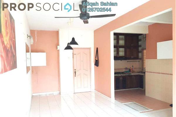 For Rent Apartment at Danaumas Apartment, Shah Alam Freehold Semi Furnished 3R/2B 1.2k