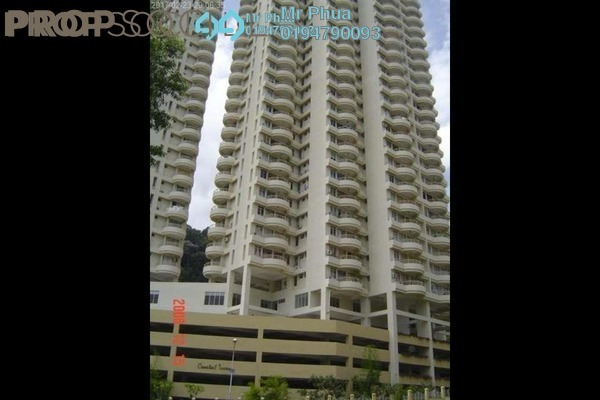 For Rent Apartment at Coastal Towers, Tanjung Bungah Freehold Fully Furnished 3R/2B 1.8k