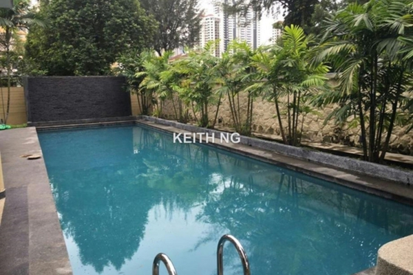 For Rent Bungalow at Changkat Kiara, Dutamas Freehold Semi Furnished 4R/5B 15k
