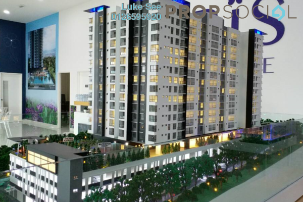 For Sale Condominium at Iris Residence, Bandar Sungai Long Freehold Unfurnished 3R/2B 523k
