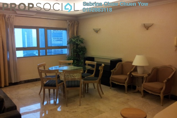 For Sale Apartment at Crown Regency, KLCC Freehold Fully Furnished 3R/3B 1.29m