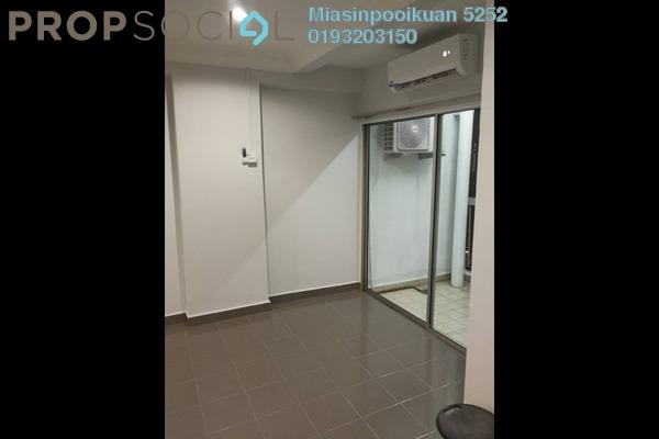 For Rent Condominium at Menara Pelangi, Brickfields Freehold Semi Furnished 3R/2B 2k