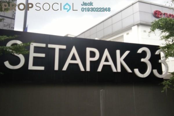 For Rent Shop at Setapak 33, Setapak Freehold Unfurnished 2R/1B 20k