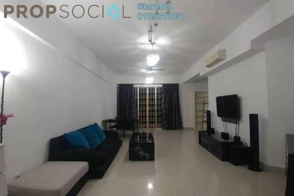 For Rent Condominium at Villa Wangsamas, Wangsa Maju Freehold Fully Furnished 3R/3B 2.3k