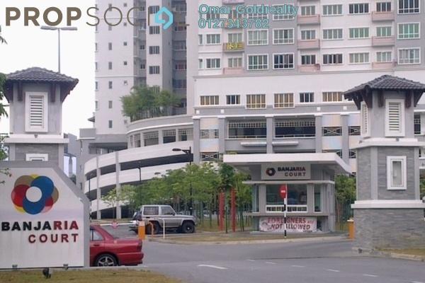 For Rent Condominium at Banjaria Court, Batu Caves Freehold Semi Furnished 3R/2B 1.4k