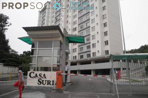 For Rent Condominium at Casa Suria, Batu 9 Cheras Freehold Unfurnished 4R/2B 1.2k