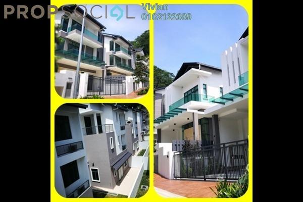 For Sale Bungalow at ForestHill Damansara, Bandar Sri Damansara Freehold Semi Furnished 4R/7B 3.9m