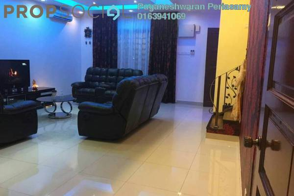 For Sale Terrace at Indah Residences, Kota Kemuning Freehold Semi Furnished 4R/4B 840k