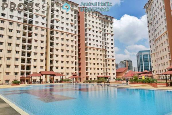 For Sale Apartment at Bayu Puteri, Tropicana Freehold Unfurnished 3R/2B 430k