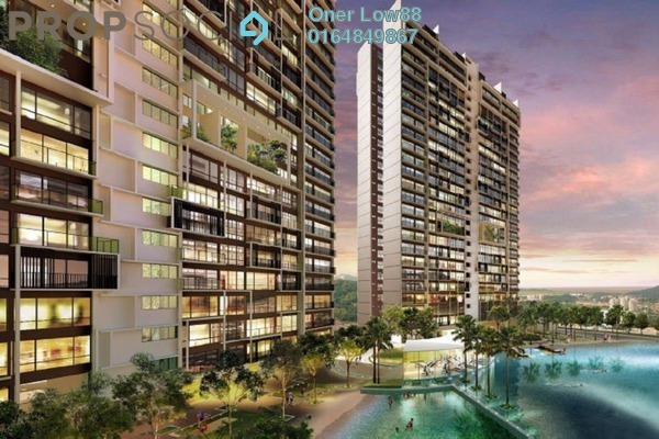 For Rent Condominium at Skycube Residence, Sungai Ara Freehold Fully Furnished 3R/2B 1.7k