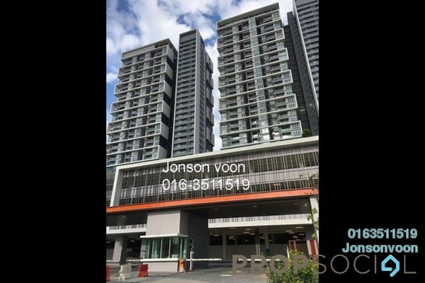For Rent Condominium at Sunway GEO Residences, Bandar Sunway Freehold Semi Furnished 2R/2B 2.8k
