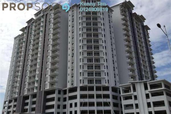 For Rent Apartment at Idaman Iris, Sungai Ara Freehold Semi Furnished 3R/2B 1k