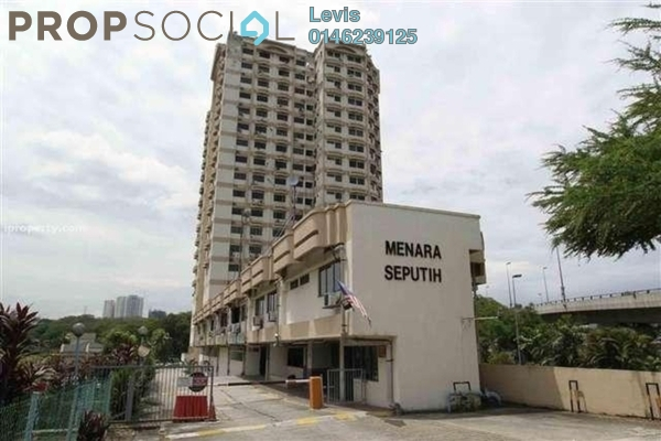 For Rent Condominium at Menara Seputih, Seputeh Freehold Fully Furnished 1R/1B 1.2k