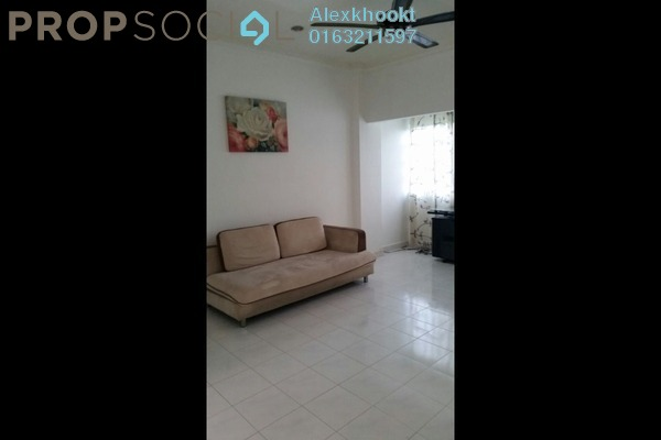 For Rent Apartment at Antah Tower, Dutamas Freehold Fully Furnished 2R/1B 1.4k